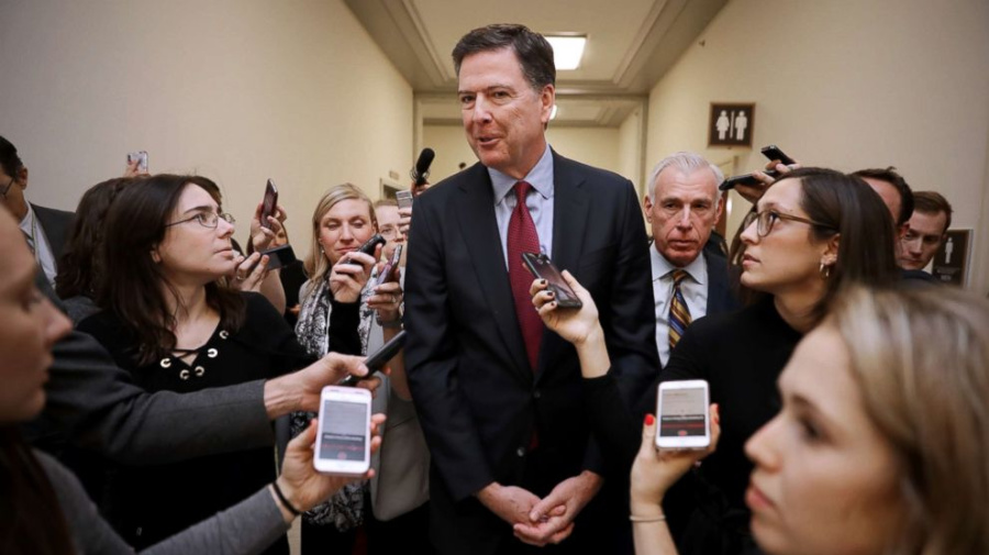 James Comey: Democrats 'have to win' in 2020