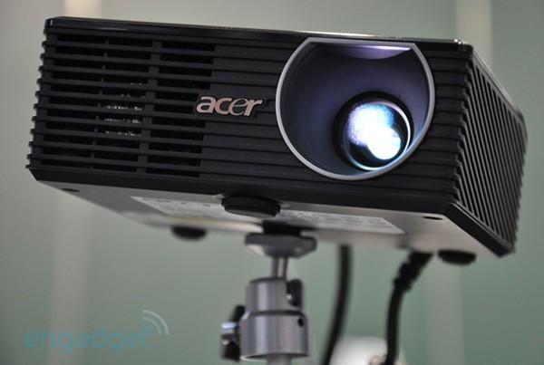 Acer K10 pocket projector hands-on