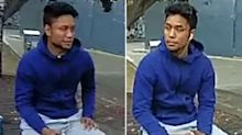 Police release pictures of man wanted over random stabbing of Sydney woman