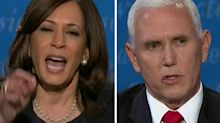 'That is absolutely not true': Harris shuts down Pence as debate heats up