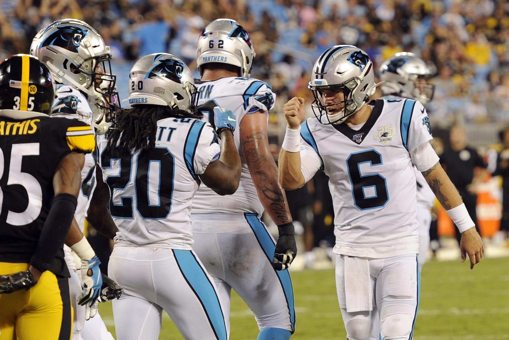 Panthers place K Gano on IR, cut QB Heinicke, RB Artis-Payne