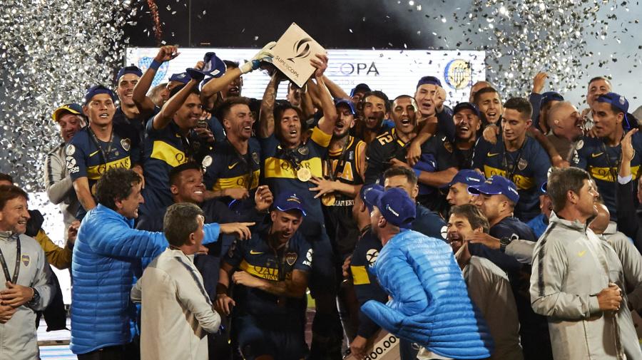 SE VIENE RIVER-RACING | La lista con todos los campeones de la Supercopa Argentina