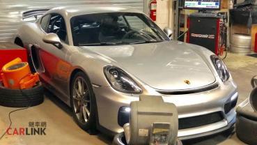 911 GT3 RS閃邊去!Porsche 718 Cayman GT4專用「4.5L擴缸改」套件