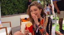Gigi Hadid Just Admitted To Getting Her Favourite Pregnancy Snack Shipped To Her