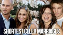 11 of the Shortest Celeb Marriages Ever