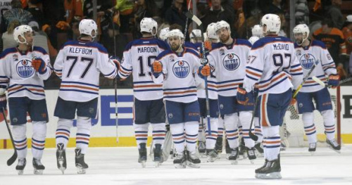 Hockey - NHL - NHL : Edmonton double la mise !