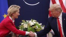 Trump says to discuss trade deal with EU's Von der Leyen
