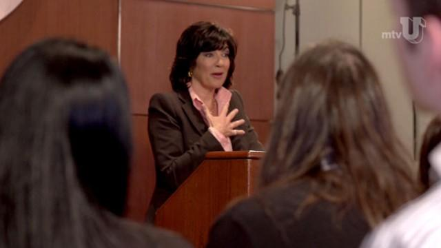 Amanpour Becomes Professor for MTVU's 'Stand In'