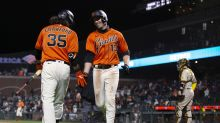 Slater hits tiebreaking HR, Giants beat Padres 5-4