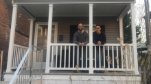 This couple erased $156,000 of debt by moving into a tiny house