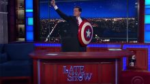 Colbert 'Would Love a Lawsuit' From Comedy Central Over Reprising 'Report' Character on CBS