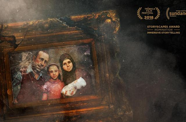 Experience the horror of a Syrian air raid in 'Hero'