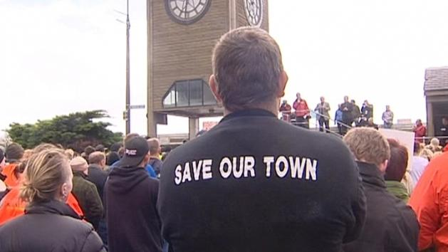 West Coasters Rally To Support Miners