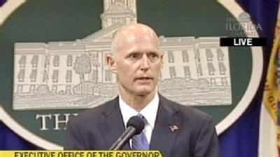 Rick Scott Delivers First News Conference