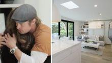 Brad Pitt renueva la casa de su maquilladora para un programa de TV
