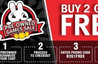 Gamestop's Buy 2, Get 1 Free on pre-owned goods offer is back on