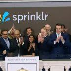 Sprinklr IPO Gets Watered Down