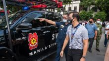 Manila Police receives 6 new SWAT Vehicles