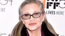 Carrie Fisher's Urn Is a Giant Prozac Pill