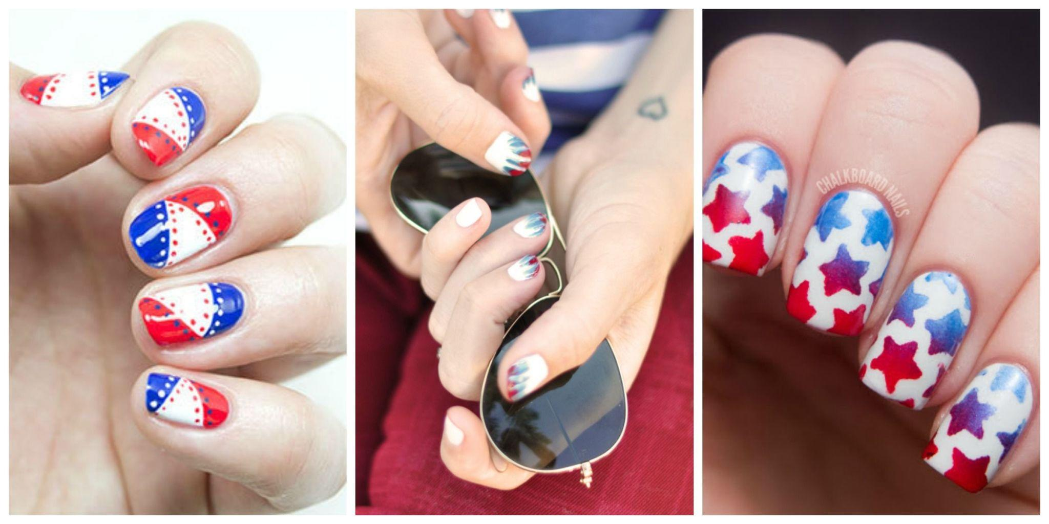 15 Patriotic Nail Art Ideas For The 4th Of July