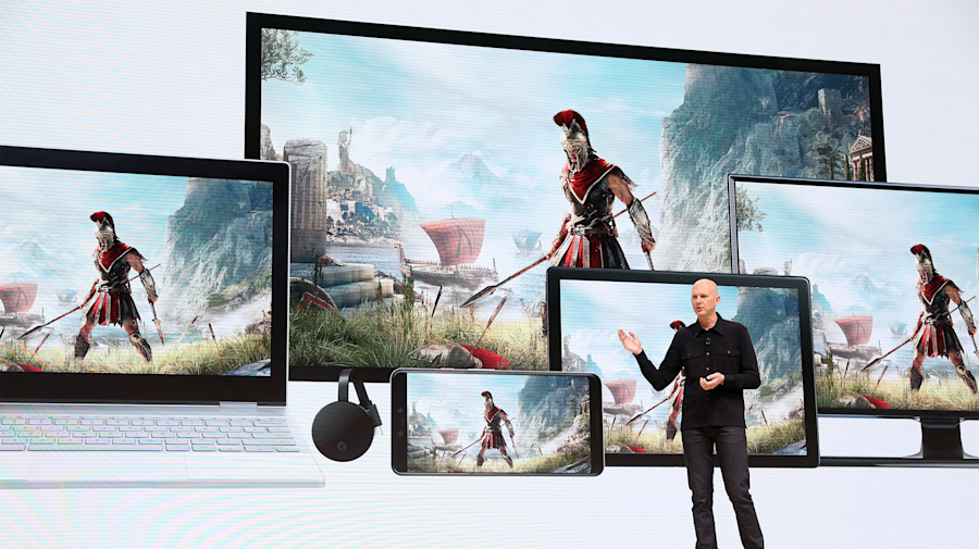 Google Pushes Into Video GamesWith Stadia Service