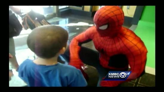 Dream Factory kid talks about meeting Spider-Man