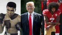 Trump wants to pardon Muhammad Ali, and that's hypocritical for one glaring reason