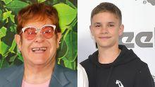 Elton John Sings Happy Birthday to Godson Romeo Beckham In Family Celebration -- Watch!