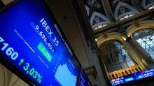 El IBEX 35 sube un 0,86 % tras la apertura, y se sitúa en los 9.600 puntos