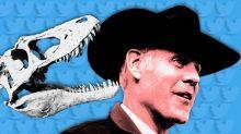 The dinosaur that ate Ryan Zinke