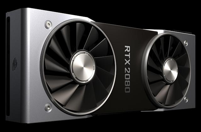 NVIDIA says the RTX 2080 GPU is twice as fast as the GTX 1080