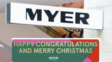 Baffling detail in Myer ad sparks backlash