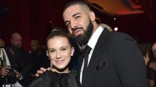 The internet is 'disturbed' by Drake's texts to Millie Bobby Brown, 14