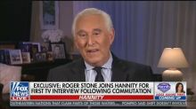 Roger Stone Says the System Is 'Fixed' After Trump Commutation