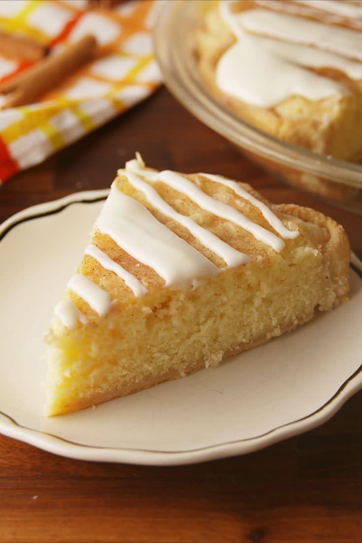 "<p>Tastes like a giant snickerdoodle cookie.</p><p>Get the recipe from <a href=""https://www.delish.com/cooking/recipe-ideas/recipes/a56749/snickerdoodle-pie-recipe/"" rel=""nofollow noopener"" target=""_blank"" data-ylk=""slk:Delish"" class=""link rapid-noclick-resp"">Delish</a>.</p><p><strong><em>BUY NOW: Kitchen Aid Hand Mixer, $30, <a href=""https://www.amazon.com/gp/huc/view.html?ie=UTF8&increasedItems=Cdf8ec2b9-d999-4686-a1bf-55fe4fb281c2&newItems=Cdf8ec2b9-d999-4686-a1bf-55fe4fb281c2%2C1&tag=delish_auto-append-20&ascsubtag=[artid|1782.a.56749[src|"" rel=""nofollow noopener"" target=""_blank"" data-ylk=""slk:amazon.com"" class=""link rapid-noclick-resp"">amazon.com</a>.</em></strong></p>"