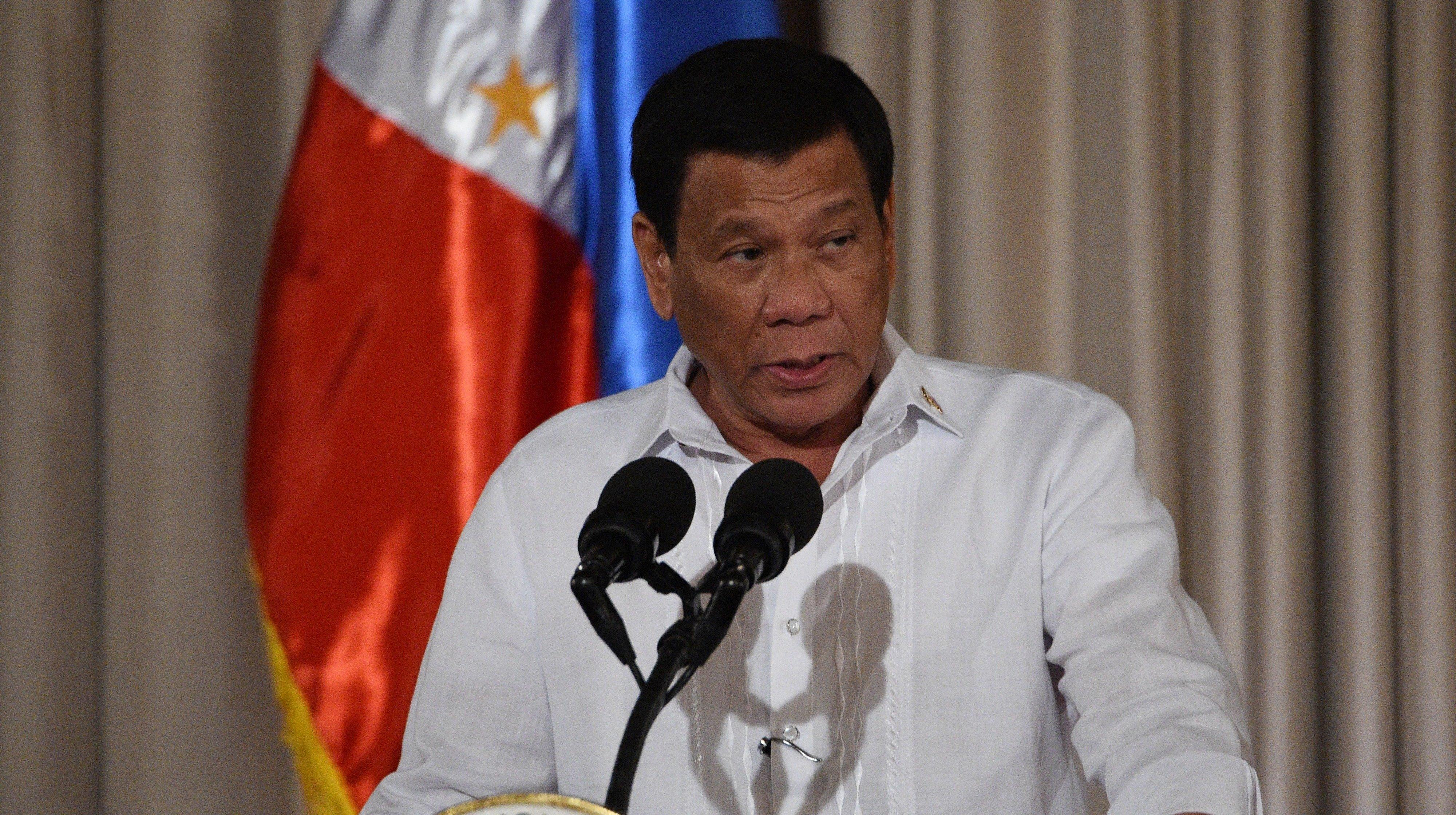 Philippine President Used The Word 'Bitch' To Refer To Women At Gender Equality Event