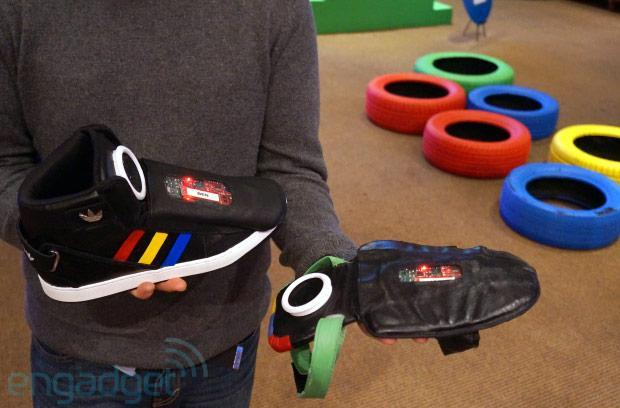 Google shows off hacked speaking shoe at SXSW, promises it's not getting into the footwear business