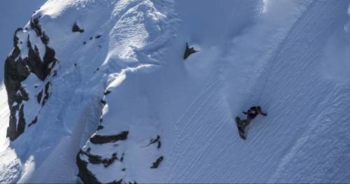 Snowboard - Freeride World Tour 2017 : Le run de Marion Haerty sur l'Xtreme Verbier pour son titre de championne du monde