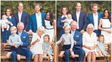 Adorable photos of the royal family released