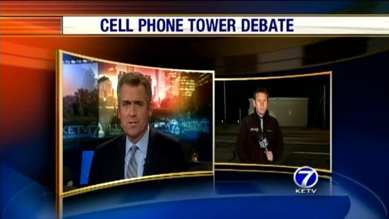 Neighbors concerned over cell tower