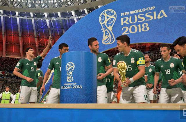 'FIFA 18' let me live out my World Cup fantasies