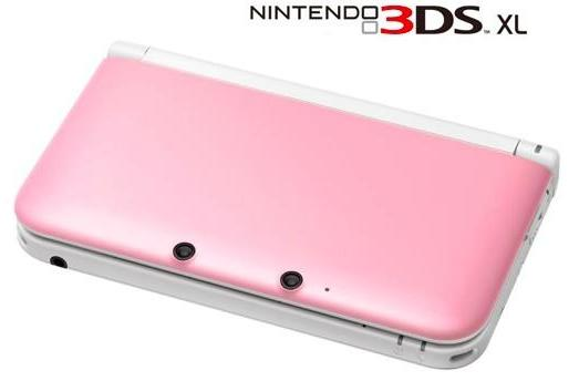 Pink 3DS XL returns to America for Valentine's Day