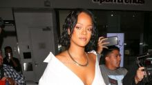 Rihanna Steps Out in Revealing Dress Amid Body Shaming