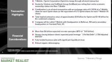 An Update on the T-Mobile-Sprint Merger Deal