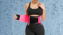 This comfy $10 waist trainer is a belly fat-burning wonder: 'I'm literally sweating sitting down'