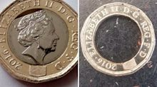 Cracked, warped and missing middles: thousands of new £1 coins 'have major production flaws'