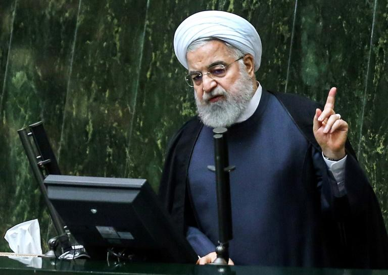 President Hassan Rouhani has long demanded the lifting of US sanctions in exchange for Iran's return to talks on its nuclear programme under the auspices of the six powers with which it struck a landmark 2015 deal