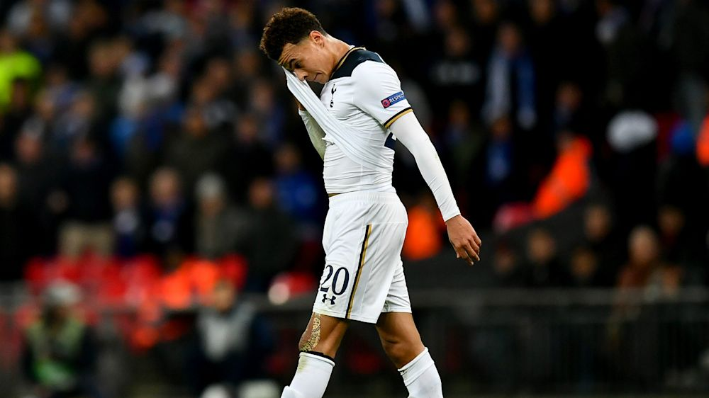 Dele Alli banned for three matches for horror tackle in Europa League