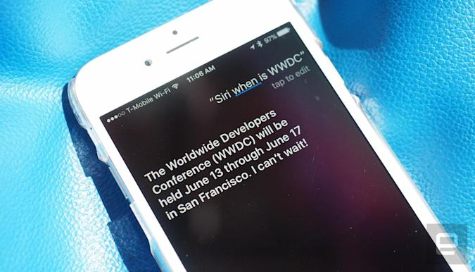 Siri reveals Apple's WWDC event will begin June 13th