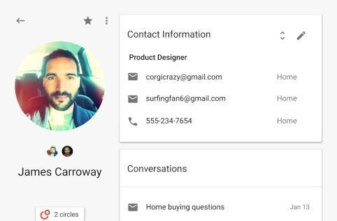 Google tests new Contacts that blend Gmail and Google+